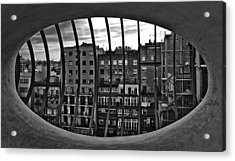 Gaudi's View Acrylic Print by Robert  FERD Frank
