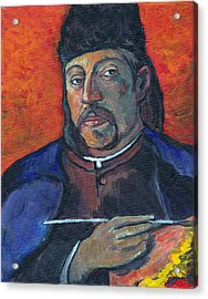 Gauguin Acrylic Print by Tom Roderick