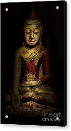 Gautama Buddha Acrylic Print by Lee Dos Santos