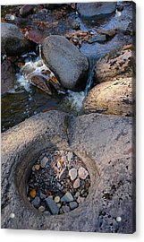 Gauthier Creek Point Of Interest Acrylic Print