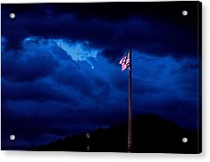 Gave Proof Through The Night That Our Flag Was Still There. Acrylic Print