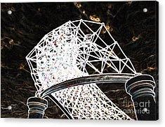 Acrylic Print featuring the photograph Gazebo 3 by Minnie Lippiatt