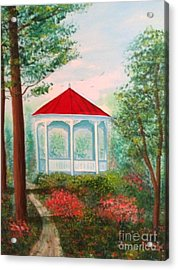 Gazebo Dream Acrylic Print