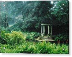 Gazebo Longwood Gardens Acrylic Print