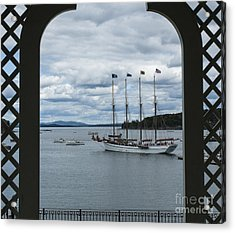Gazebo View And Margaret Todd Acrylic Print
