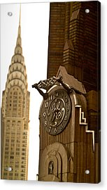General Electric Building 1 Acrylic Print