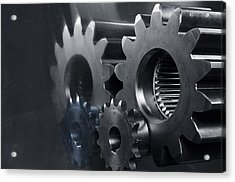 Gears And Power Acrylic Print