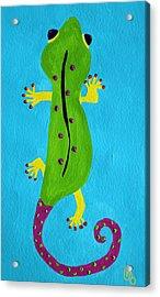 Gecko Gecko Acrylic Print