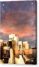 Gehry Rainbow Acrylic Print
