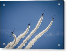 Acrylic Print featuring the photograph Geico Sky Typers 2 by Bradley Clay