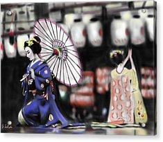 Geisha No.109 Acrylic Print by Yoshiyuki Uchida
