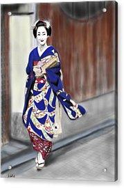 Geisha No.6 Acrylic Print by Yoshiyuki Uchida