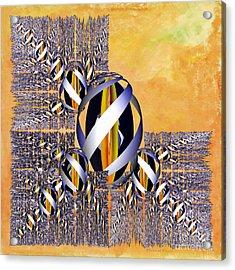 Gem Of Gold Acrylic Print