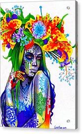 Gemini Acrylic Print by Callie Fink