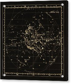 Gemini Constellation, 1829 Acrylic Print by Science Photo Library