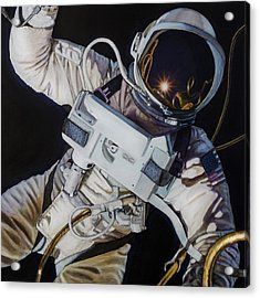 Gemini Iv- Ed White Acrylic Print