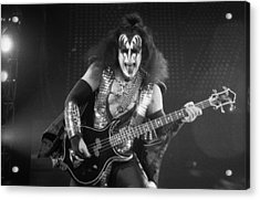 Gene Simmons Acrylic Print by Timothy Bischoff