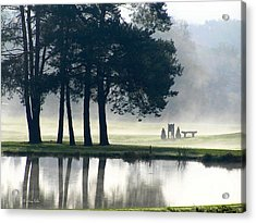 Genegantslet Golf Club Acrylic Print