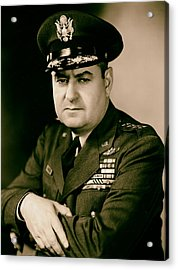 General Curtis Lemay 1950s Acrylic Print