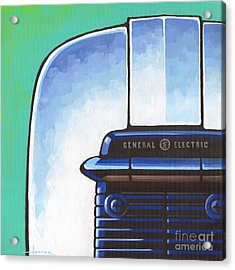 General Electric Toaster Acrylic Print by Larry Hunter