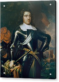 General George Monk 1st Duke Acrylic Print by Samuel Cooper