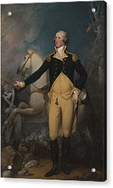 General George Washington At Trenton, 1792 Acrylic Print