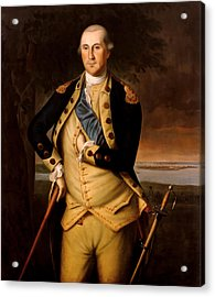 General George Washington  Acrylic Print by War Is Hell Store