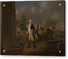 General Humphreys Delivering Acrylic Print by Nicolas Louis Albert Delerive