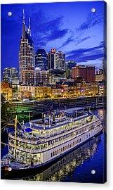 General Jackson In Nashville Acrylic Print by Brett Engle