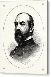General Meade, He Was A Career United States Army Officer Acrylic Print by American School