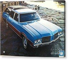 General Motors Posters Acrylic Print