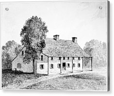 General Schuyler's House Acrylic Print by Granger
