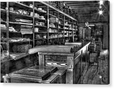 Acrylic Print featuring the photograph General Store by Dawn Currie