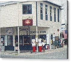 General Store Acrylic Print by Dennis Buckman