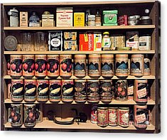 Acrylic Print featuring the photograph General Store Goods by Vicki DeVico