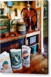 General Store Acrylic Print by Susan Savad