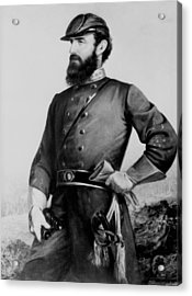General Thomas Stonewall Jackson Acrylic Print by Mountain Dreams