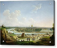 General View Of Paris From The Chaillot Hill, 1818 Oil On Canvas Acrylic Print by Seyfert