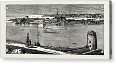 General View Of Wolfe Island, British Naval Defences Acrylic Print by Litz Collection