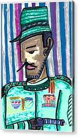 Generalissimo Diego  Acrylic Print by Don Koester