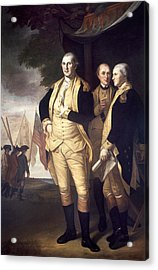Generals At Yorktown, 1781 Acrylic Print by Granger