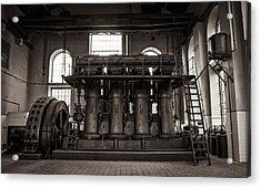 Generator Acrylic Print by Akos Kozari