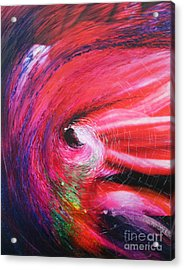 Acrylic Print featuring the painting Genesis by Jeanette French