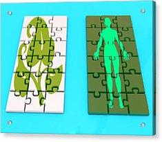 Genetic Engineering Acrylic Print by Christian Darkin