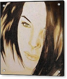 Geneva Girlfriend - Mab Acrylic Print by Mirko Gallery