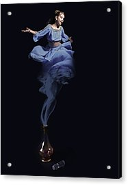 Genie Acrylic Print by Andre Faubert