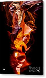 Genie In A Bottle Acrylic Print by Az Jackson