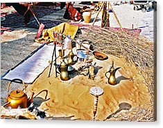Acrylic Print featuring the photograph Genie Sandpit by Cassandra Buckley