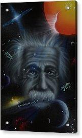Genius Acrylic Print