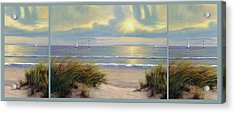 Gentle Breeze Trip Tych Acrylic Print